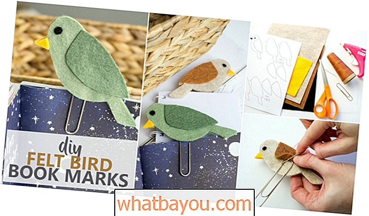 Lagana DIY Bird Flight Bookmark