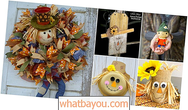 Menghias: 16 Fun DIY Scarecrow Crafts For Fall Decorating