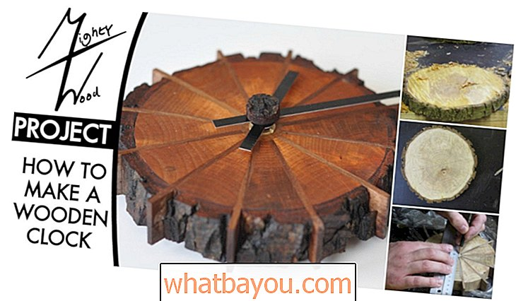 Decoreren: Gorgeously Rustic Project: How To Make This Nature Inspired Clock