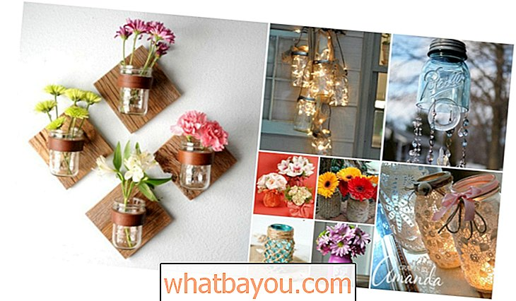 50 Mason Jar Decorating Projects Home Decorating Brilliantly