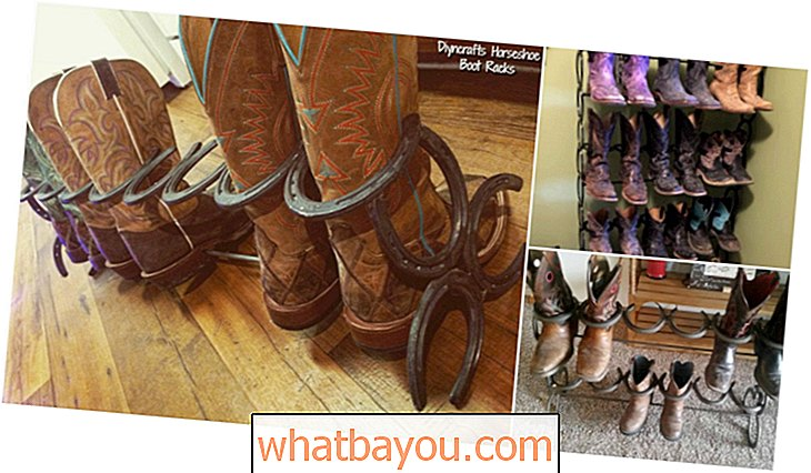 Cara Membuat Rakitan Boot Horseshoe DIY Ridiculously Simple ini