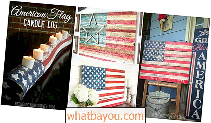 Decoreren: 20 DIY Rustiek houten decorideeën voor Fourth of July om je patriottische trots te tonen