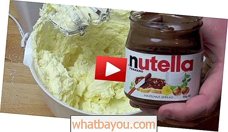 Out of This World Recipe Recipe: Cheesecake No-Bake Nutella ngon