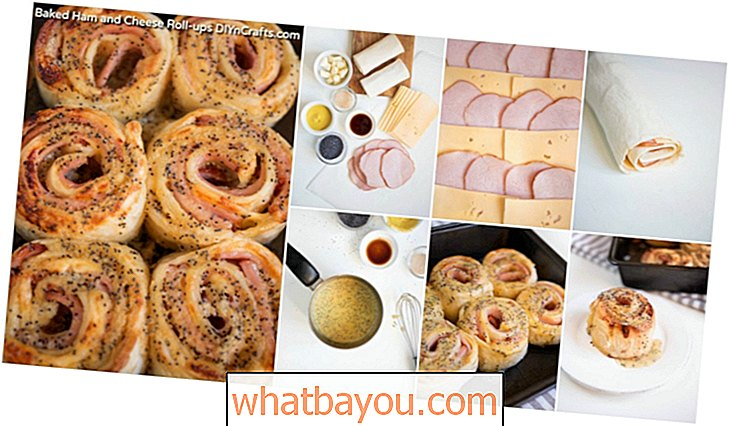 Baked Ham and Cheese Rolls - A New Take a Old Favorite