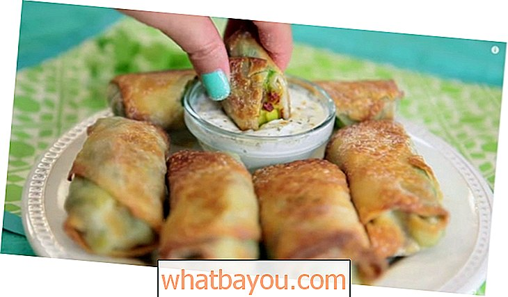 Delicious Avocado Egg Rolls - The Healthier Cheesecake Factory Alternative