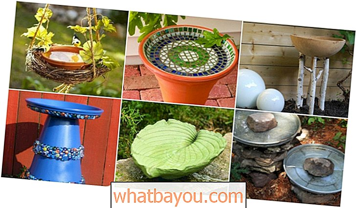 20 Adorable Easy DIY Bird Baths You'll Lupakan Tambah Ke Taman Anda Hari Ini