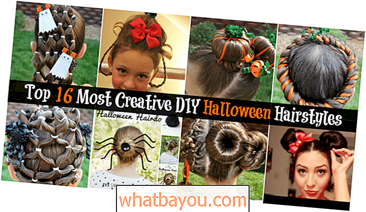 Top 16 der kreativsten DIY Halloween Frisuren