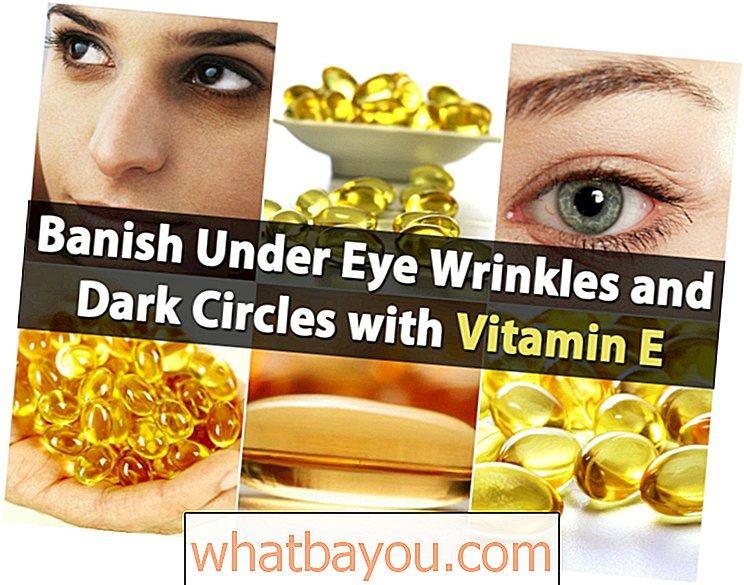 Genius Frrif Beauty Beauty: Banish Under Eye Wrinkles and Dark Circles with Vitamin E