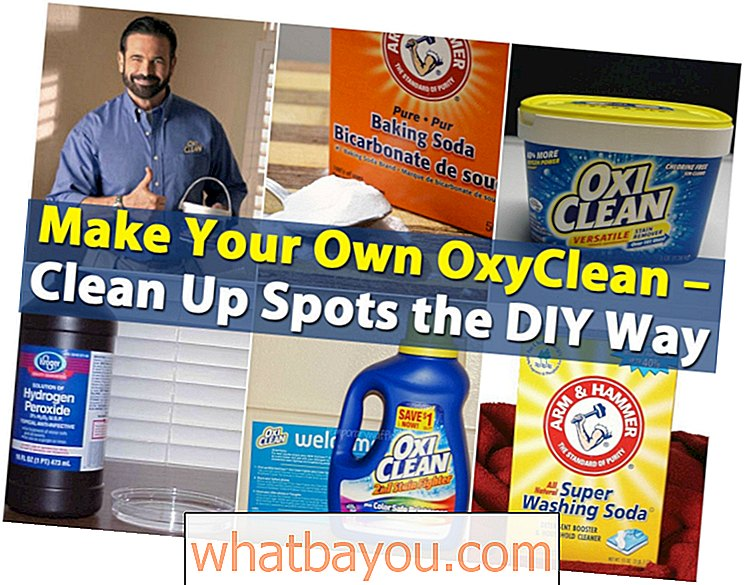 Lag din egen OxyClean - Clean Up Spots DIY Way