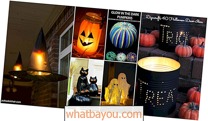 40 enkle å lage DIY Halloween Decor Ideas