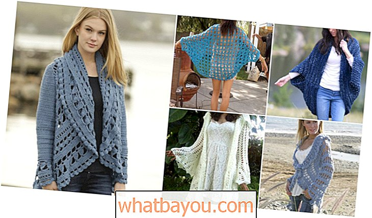 40 Crochet Jacket, Sweater dan Cardigan Patterns For All Seasons