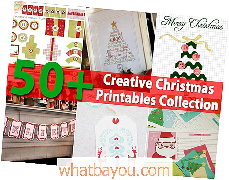 50+ Kreative Weihnachten Printables Collection
