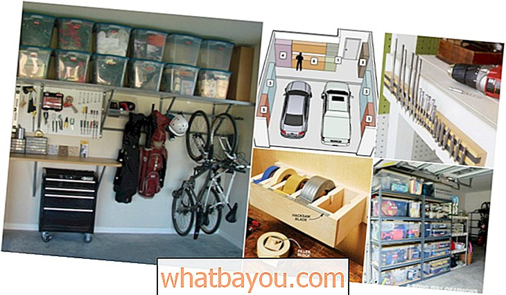 49 Brilliant Garage Organization Tips, Ideas and DIY-prosjekter