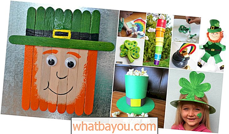 Parenting: 45 Fantastisk sjovt St. Patrick's Day Crafts For Kids