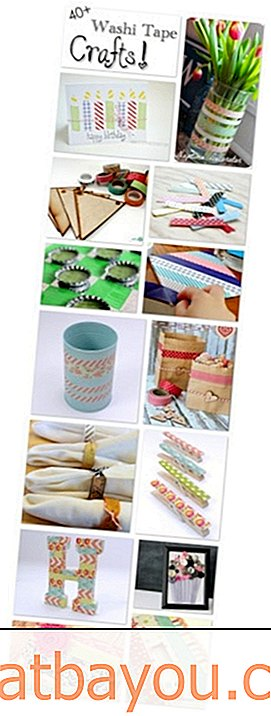 Koleksi Awesome DIY Washi Tape Crafts