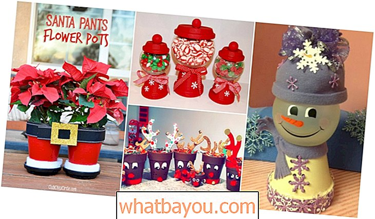 20 decoraciones navideñas DIY Clay Pot que agregan encanto a tu decoración navideña