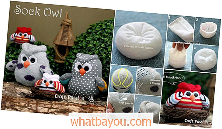 Incredibly Lovely Project: How To DIY Sock Owls