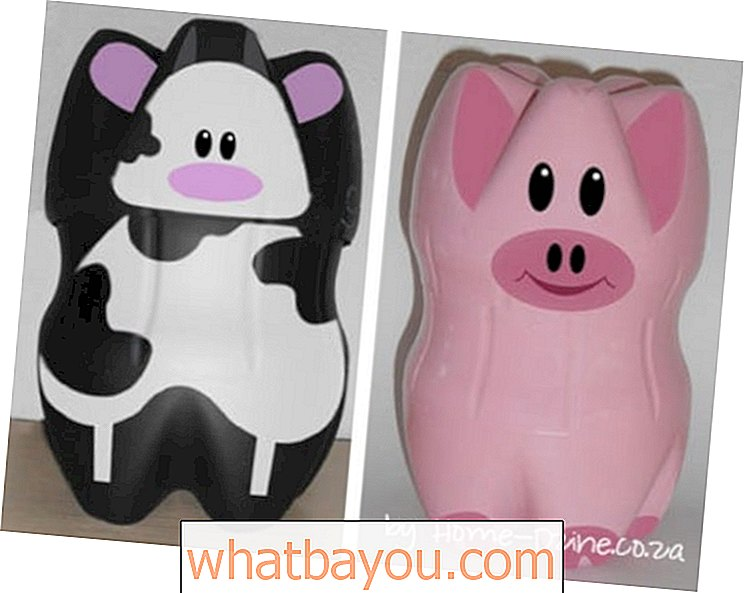 Adorables DIY Piggy Banks de botellas de plástico