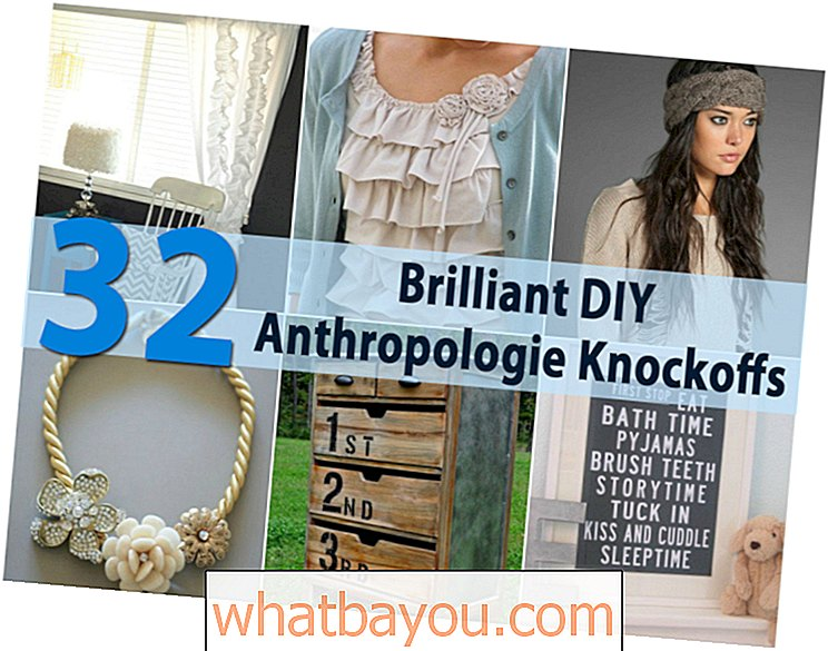 32 Brilantní DIY Anthropologie Knockoffs